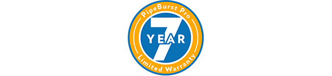 Industry's Best 7-Year Warranty